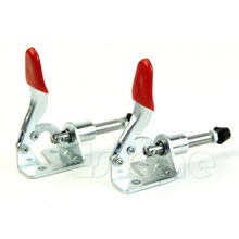 A96 Free Shipping Hot 2Pcs Hand Tool Toggle Clamp Vertical Clamp 301AM GH-301AM