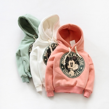 Free Shipping 2016 casual boys girls sport hoodies cartoon sweatshirt children clothes baby kids coat jacket clothing