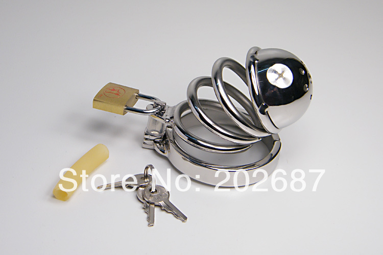 Male Chastity Cage 304 Stainless Steel Penis Ring
