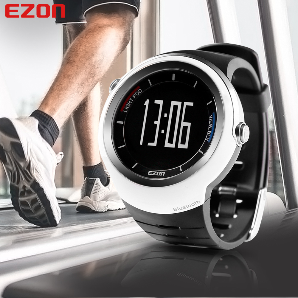 2016 Hot Sports Digital Watch EZON S2A02 Call Reminder Pedometer Bluetooth Smart Wrist Watch for Mobile Phone(China (Mainland))