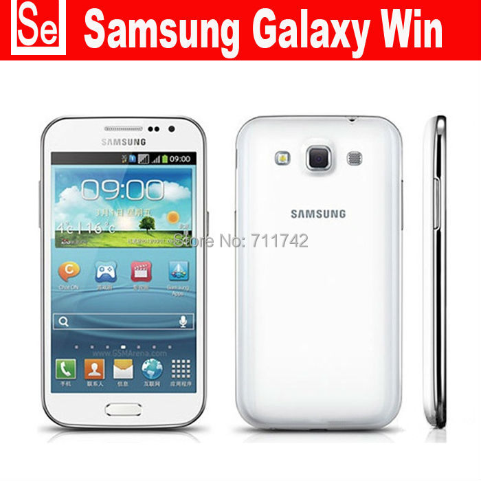 Unlocked refurbished Samsung Galaxy Win I8552 Android 4.1 Quad Core 1G RAM 5MP Camera 4.7 inches Touchscreen Phone send gift(China (Mainland))