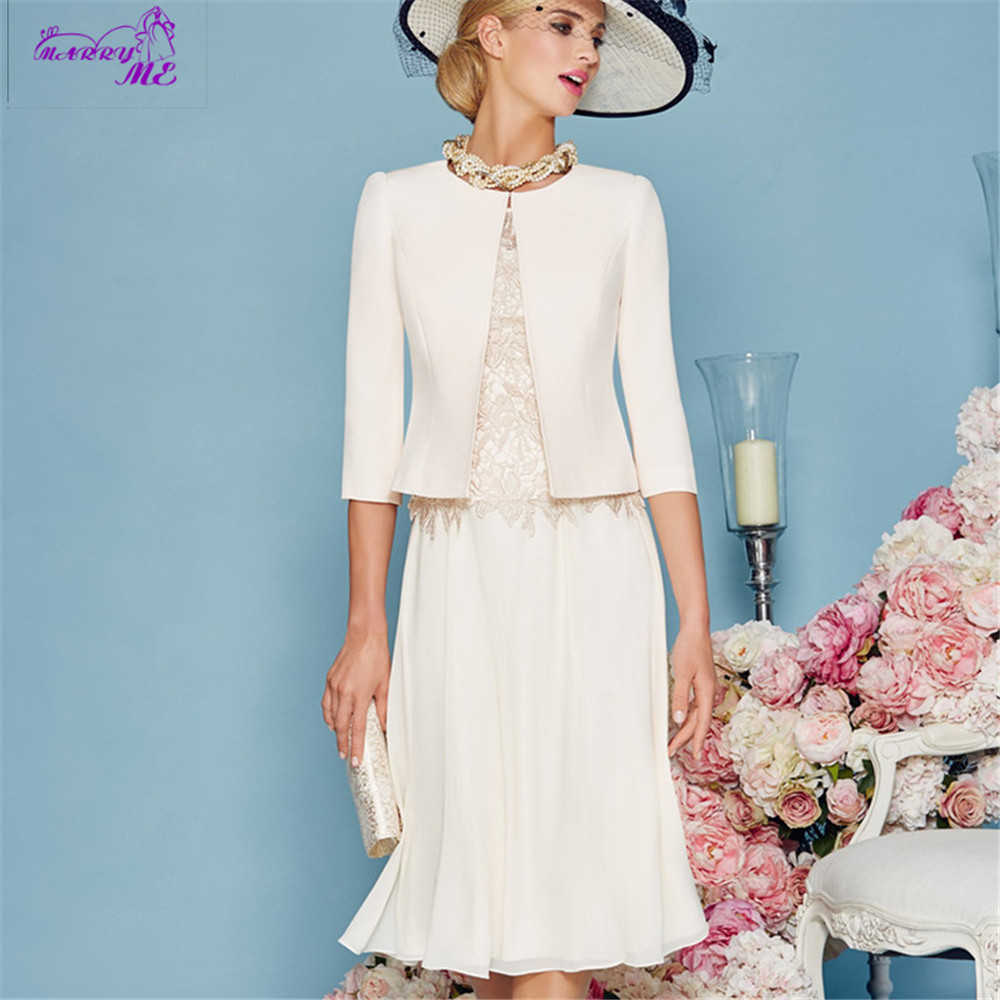 Spring 2016 Plus Size Mother Of The Bride Dresses Ivory