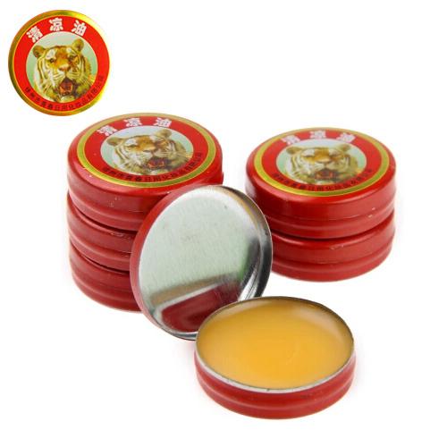Tiger essential Balm balsamo de tigre Tiger Balm Plaster Tigre Essential Oils For Mosquito Elimination Headache Cold Dizziness(China (Mainland))