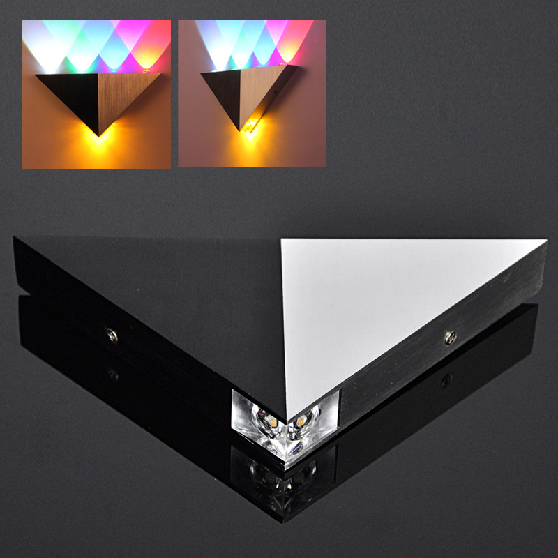 Multicolor 5W High Power LED Up Down Modern Wall Light for Sconce Lighting 5 LED Wall Lamp Available