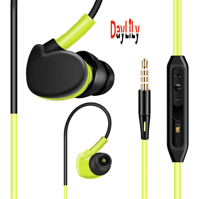 2016 New headphones wired fone de ouvido MP3 earphone Hi-Fi headset Fashion auriculares phone headphones bass Earphone Green(China (Mainland))