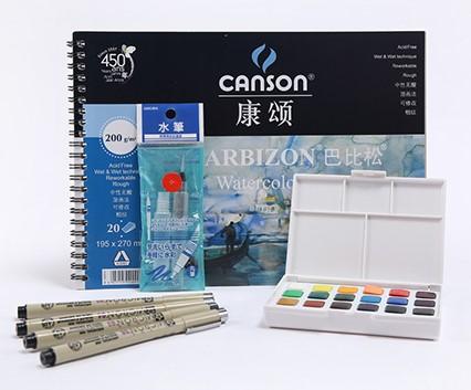 Краски художественные из Китая