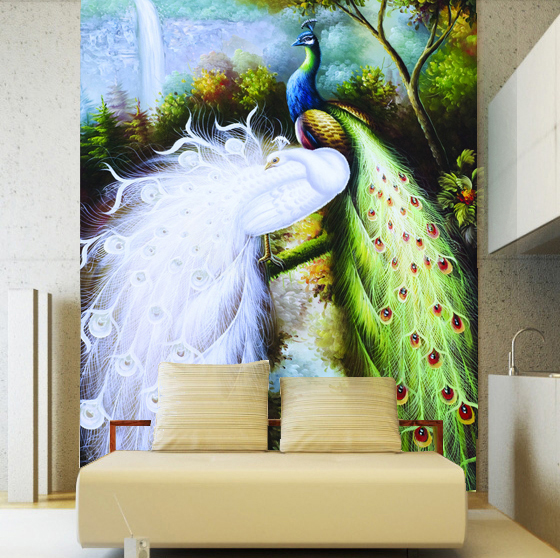 Popular asian wall murals buy cheap asian wall murals lots for Asian mural wallpaper