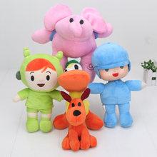 Pocoyo Brinquedos de Pelúcia Recheado brinquedos De Pelúcia Elly Loula Pocoyo Pato Nina Elepant Cão Pato Animal Bom Presente Para As Crianças(China)