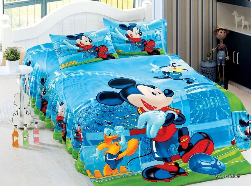 Mickey Mouse Sports Bedding Promotion Shop For Promotional
