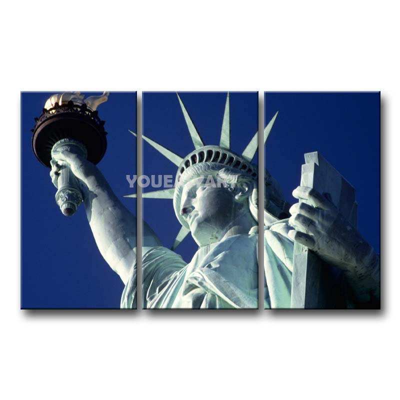 Wall (NJ) United States  city photos gallery : Canvas Wall Art Statue Of Liberty Jersey City New Jersey United States ...