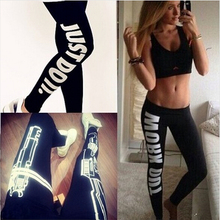 S 4XL Women s Harajuku Work Out Letter Printed Black Fitness Leggings Casual Sexy Modal Sportwear