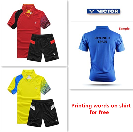 For Wholesale 2015 new badminton shirt badminton clothes table tennis shirt table tennis clothes T shirt(China (Mainland))
