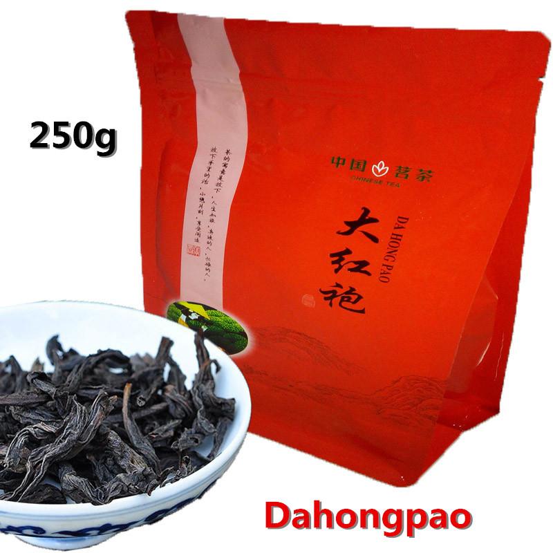 250g Chinese Top Grade Dahongpao Tea Wuyi Oolong Premium Da Hong Pao Big Red Robe Oolong Tea Wuyi Yan Cha Wuyi Cliff Tea Wulong(China (Mainland))