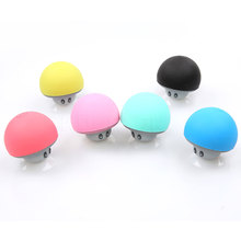 2017 Mini Wireless Bluetooth Speaker Mushroom Hands Free Sucker Cup Audio Receiver Music Stereo Subwoofer USB For IOS Android PC(China (Mainland))