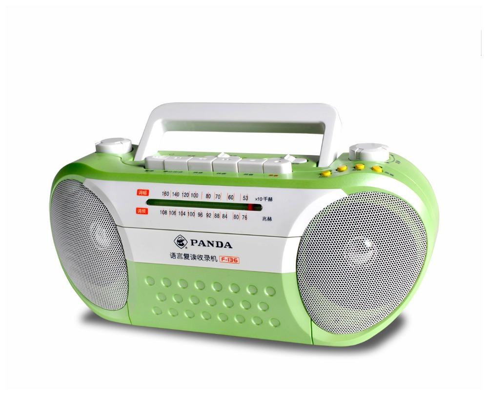 Alysea@ Panda F-136 tape recorders, video machines tape recorder player English learning machine(China (Mainland))