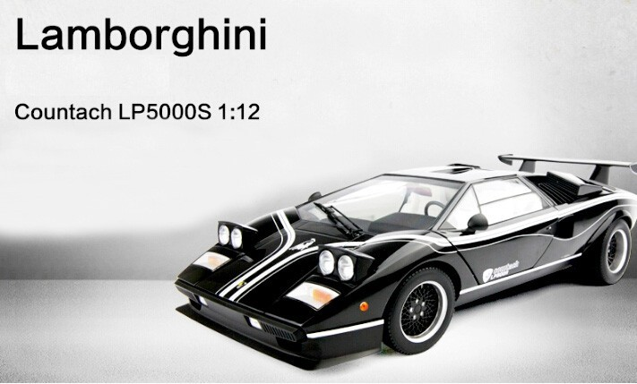 KYOSHO 1:12 Italy basic tremendous automotive mannequin LP500R unique assortment grade alloy mannequin automotive