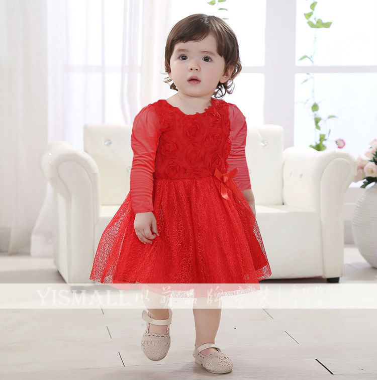 pure baby long sleeve dress « Bella Forte Glass Studio