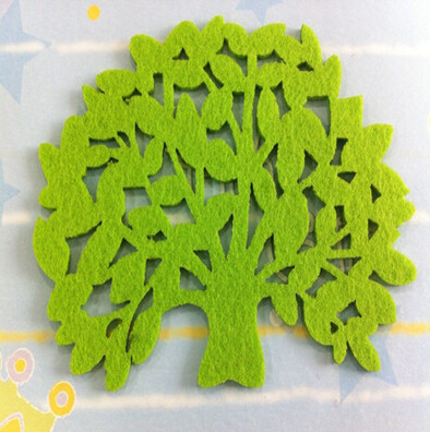 Reusable Cloth material tree wall stickers kids rooms, DIY Child Home decor - Love green store