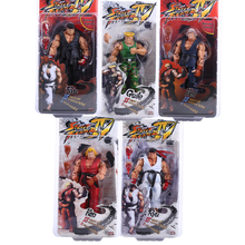 "Buy NECA Player Select Street Fighter IV Survival Model Ken Ryu Guile Action Figure Toy 7"" 18cm 5 Types for $15.99 in AliExpress store"