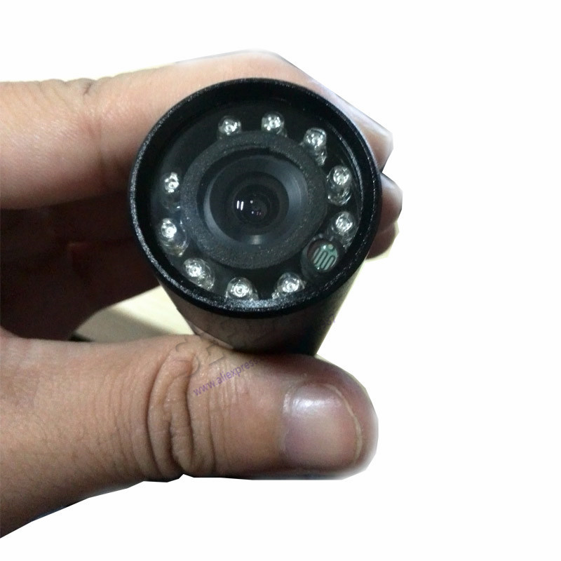HQCAM 1/3″ Sony 600TVL CCD Mini Bulls IR 940NM 0 lux Night Vision CCTV Outdoor Cameraet Invisible 10pcs Led mini bullet camera
