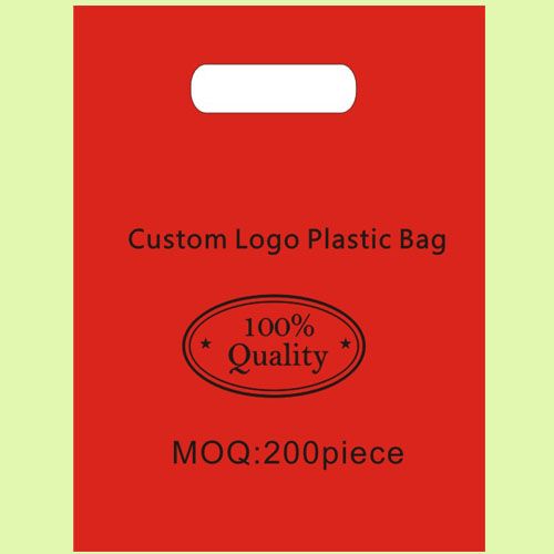 "Custom Logo Shopping Plastic Bag 35cmx45cm(13.75""x17.75"") Food shop Scraf glasses Hat makeup clothing store Handing Pouches(China (Mainland))"
