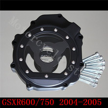 Fit Suzuki GSXR600 750 GSX-R 600 2004-2005 K4 Engine Stator cover see Black left side - Professional motorcycle parts store