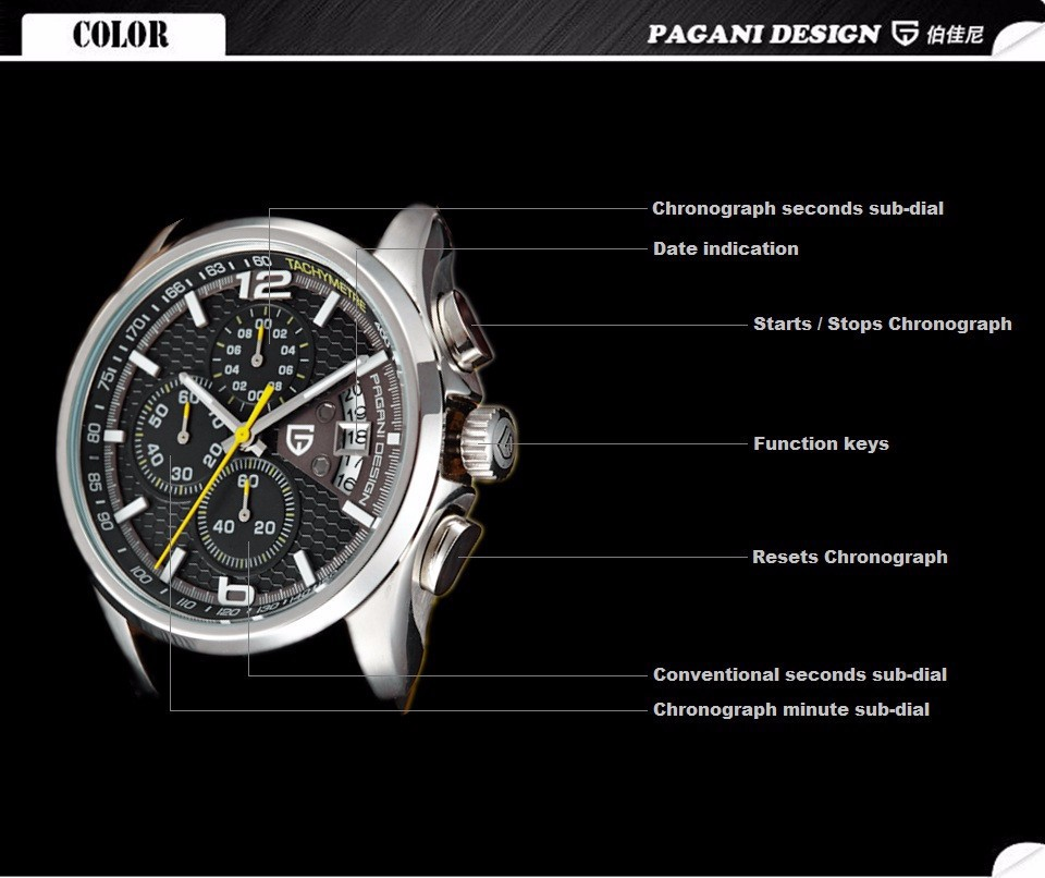 Часы мужчины luxury brand Мужчины Кварцевые спортивные часы Повседневная мода военные часы Многофункциональный Dive wistwatch часы мужчин