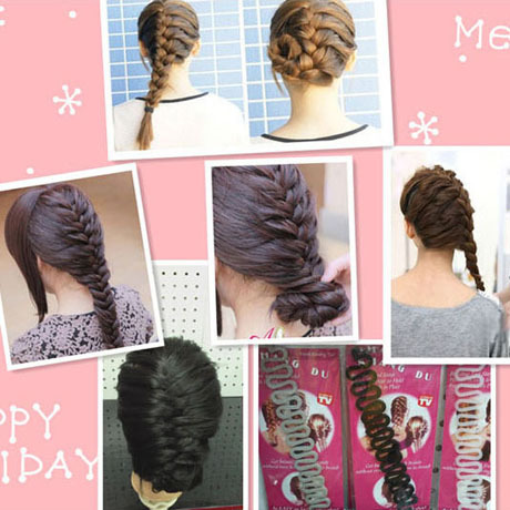 Free shipping Scollops French hairpin style tools hair maker hair accessory  wholesale