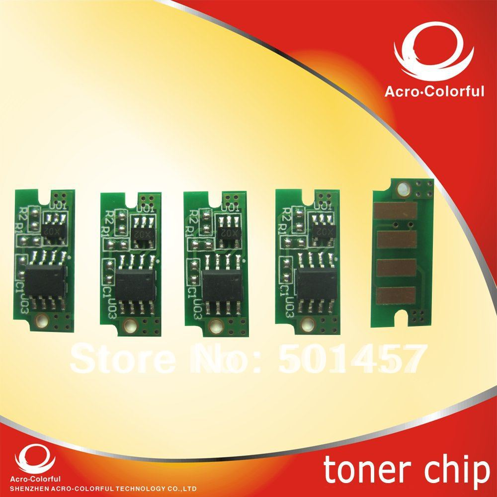 smart color laser printer reset spare parte refilled cartridge toner chip for dell 1250 1250c 1350cnw 1355cn 1355cnw 1355(China (Mainland))