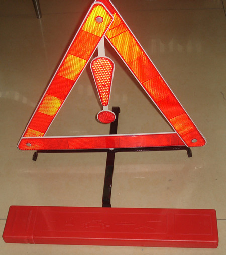 Автосигнализации три штатива стоянки транспортных средств предупреждения возле аварийное освещение