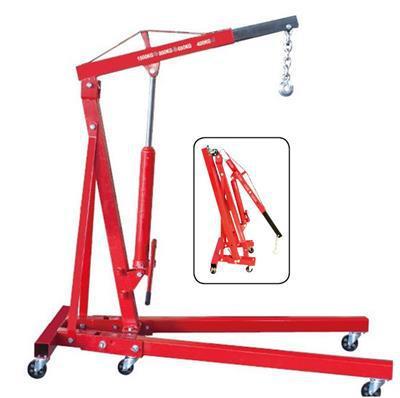 1 ton hydraulic crane small crane engine car repair tools Qibaoshebei professional automotive maintenance tools small crane(China (Mainland))