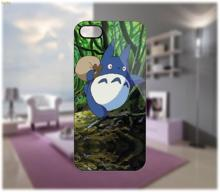 Totoro on Jungle Case hard plastic mobile phone case cover for iphone 4 4s 5 5s 5c 6 6 plus cellphone shell