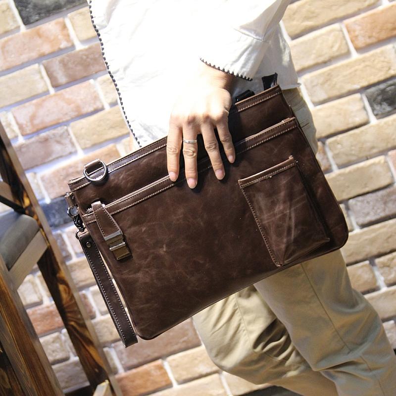 PU leather Mens Briefcase men messenger bags Business travel black bag man leather vintage men bags large shoulder bag<br><br>Aliexpress