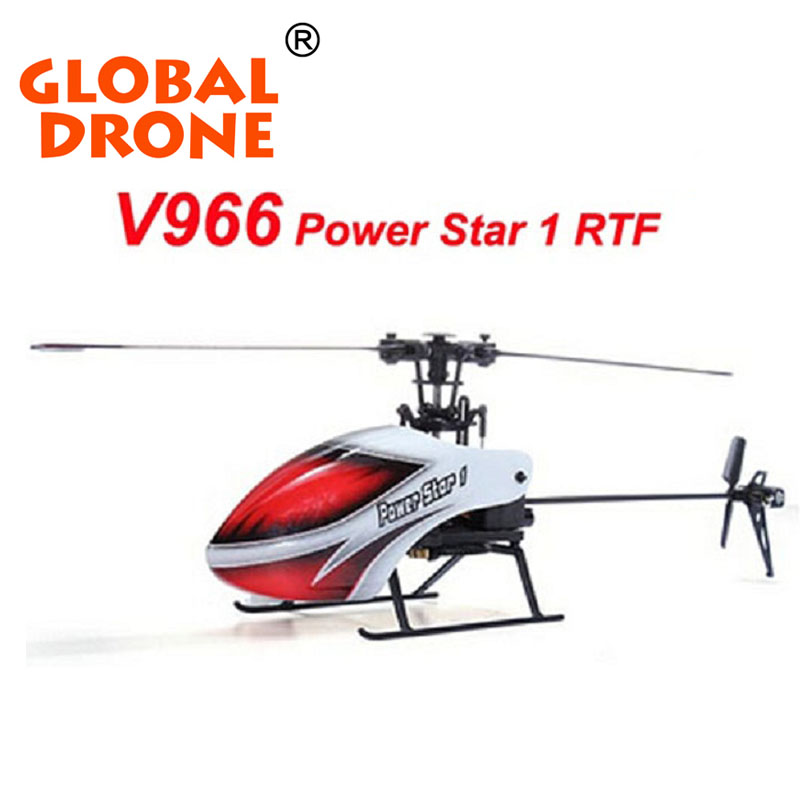 2016 Hot Sales Retail Wholesale V966 6CH 2.4G RC Helicopter Remote Control Plane Gyro Toys Radio Control Helicopters(China (Mainland))