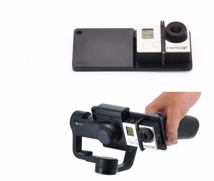 DJI Osmo Mobile phone and handheld head adapter Accessories GOPRO 4 3+