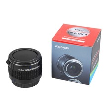 Buy Yongnuo YN-2.0XII 2X 2.0X Magnification Teleconverter Extender Auto Focus Mount Lens Canon EOS EF DSLR Camera for $149.00 in AliExpress store