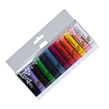 1 SET 12 Colors Painting Acrylic 3D Nail Art Paint Tube Draw Nail Art Tip UV