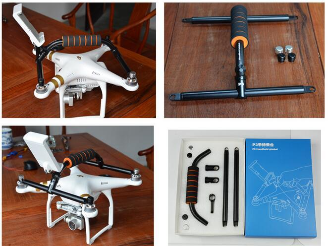DIY FPV Handheld Gimbal conversion kit for DJI Phantom 3 PRO/ADV RC Accessories