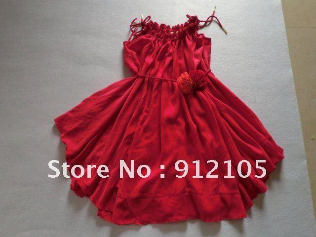red  fancy dress/party dress