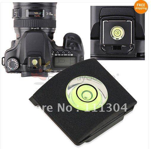 Spirit Level Hot Shoe Cover Protector for Canon Nikon Sony <font><b>Panasonic</b></font> <font><b>DSLR</b></font> Camera