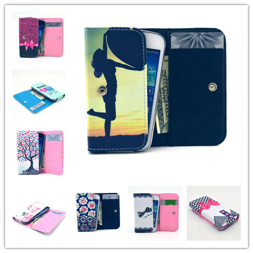 For Apple iPod Touch 5 Case Painting Universal Purse Cover for Touch 5 Wallet Flip Leather Case Phone Bag(China (Mainland))