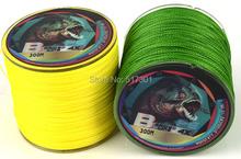 Free Shipping 1PCS 300M gray  PE BRAID FISHING LINE Braided wire 28LB—140LB good Fishing Tackle