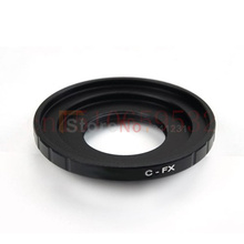 Buy 10PCS C Mount Lens Fujifilm X Mount Fuji X-Pro1 X-E2 X-M1 X-Pro1 / X-M1 / X-A2 / X-A1 / X-T1 Camera Adapter Ring C-FX for $19.22 in AliExpress store