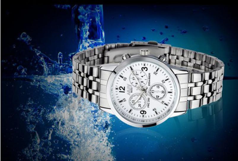 Splendid Men Wedding Water Resistant Waterproof Stainless Steel Quartz Business Man Wrist Watch men watch price