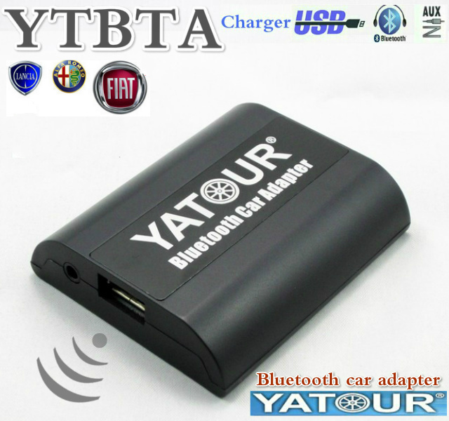 Yatour YTBTA Bluetooth Hands Free Car kits Fiat Alfa Lancia Maserati Blaupunkt Hi-Fi Sound Quality AUX Input Adapter - M&C Electronic Co.,Ltd store