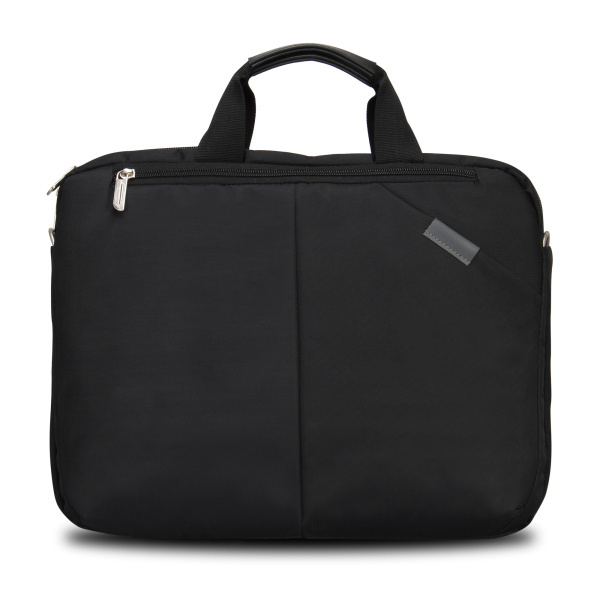 Veevan retail hot sale women men black nylon laptop bag case notebook 15 inch computer accessories shoulder bags for computer(China (Mainland))