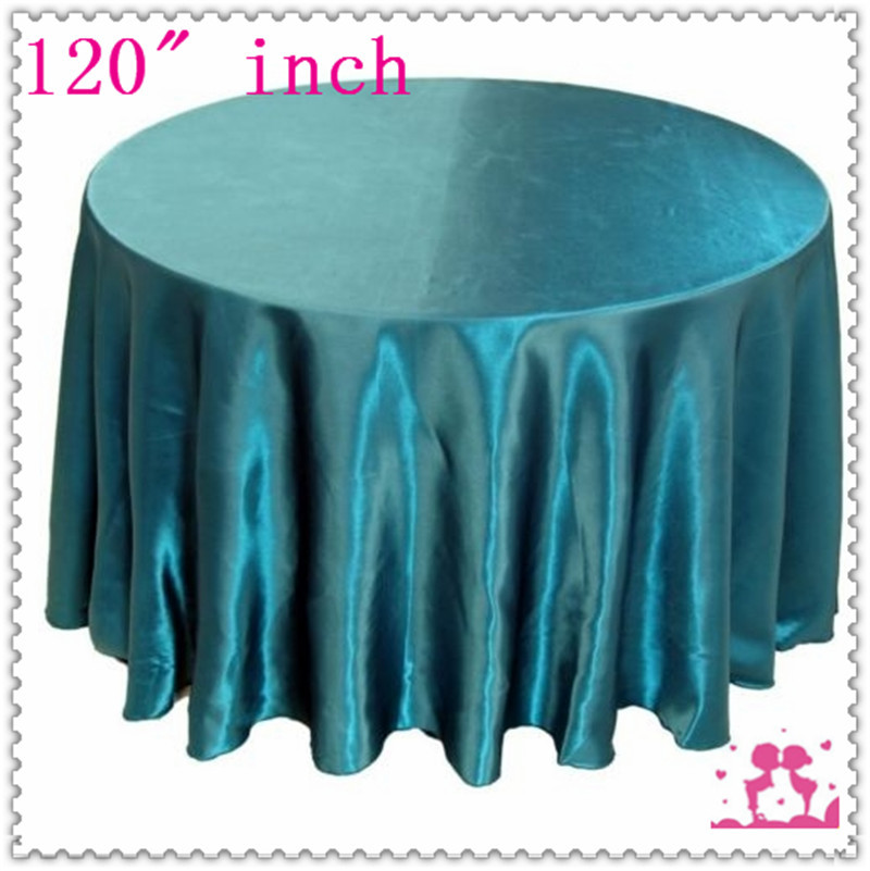 15pcs 120 39 39 round satin tablecloths for weddings round for 120 round table cover