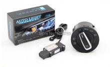 Chrome Auto head light switch Headlight button sensor FOR VW Golf 5 GOLF 6 MK5 MK6 Jetta Tiguan Touran Passat B6 B7 CC - XR2015 store
