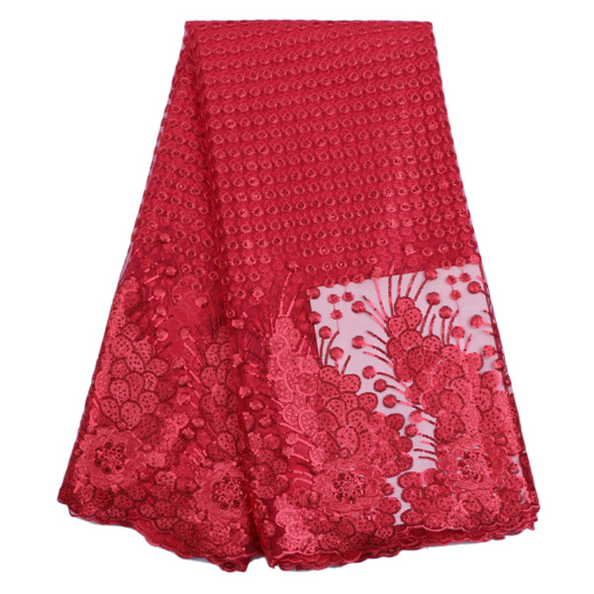 High quality african tulle lace fabric french net lace fabric for nigerian aso ebi women dress WKS27-66(China (Mainland))