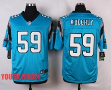 100% Stitiched,Carolina Panther,Cam Newton,Luke Kuechly,Greg Olsen,for youth,kids(China (Mainland))